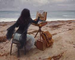 """Plein air"", Jeremy Lipking"