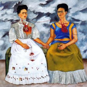 Frida Kahlo Le due Frida (1939) Museo de Arte Moderna Città del Messico